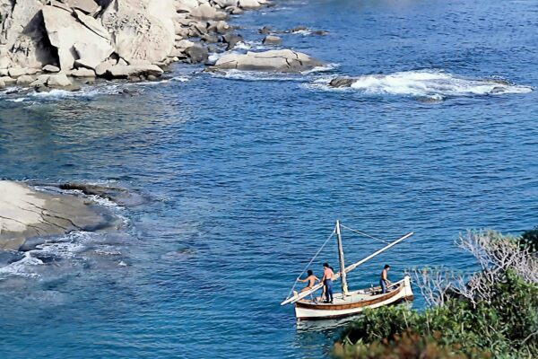 1 Sandro Battistin - Quattro ragazzi in barca