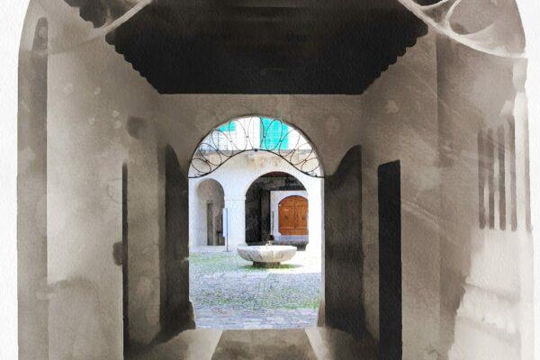 3 Sandro Battistin - Il cortile